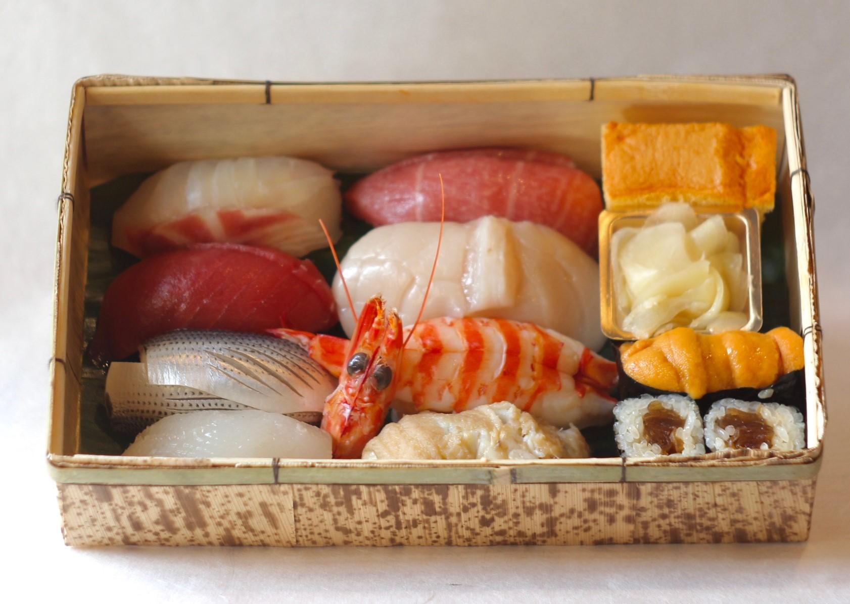 【蘭亭寿司折】<p>お持ち帰りメニューとなります。</p>